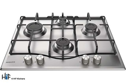 View Hotpoint PCN 642 IX/H 60cm Gas Hob offered by HiF Kitchens