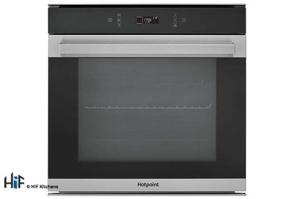 View Hotpoint SI7 871 SC IX Multi Function Single Oven offered by HiF Kitchens