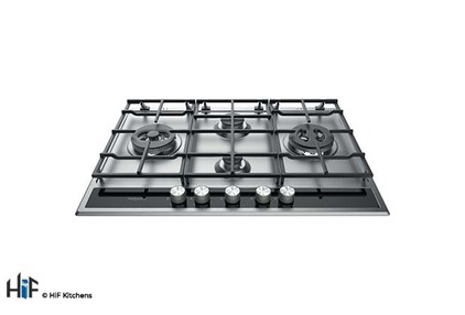 View Hotpoint PKLL741TD2IXH 75cm Gas Hob offered by HiF Kitchens