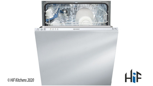 View Indesit DIF04B1 Ecotime Integrated Dishwasher offered by HiF Kitchens