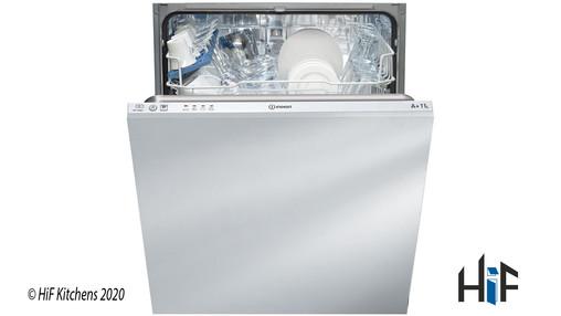 Indesit DIF04B1 Ecotime Integrated Dishwasher Image