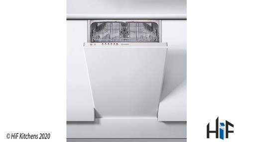 View Indesit DSIE 2B10 UK Fast Eco Cycle Integrated Dishwasher offered by HiF Kitchens