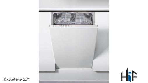 Indesit DSIE 2B10 UK Fast Eco Cycle Integrated Dishwasher Image