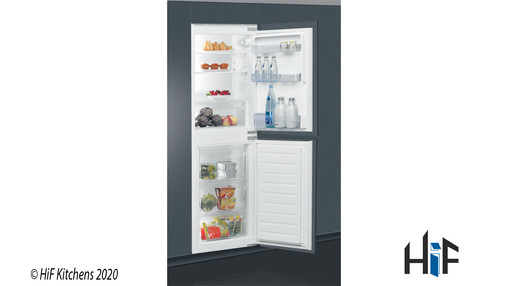 View Indesit IB5050A1D Integrated Fridge Freezer offered by HiF Kitchens