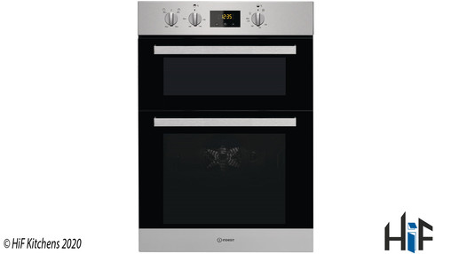 View Indesit Aria IDD 6340 IX Double Oven offered by HiF Kitchens