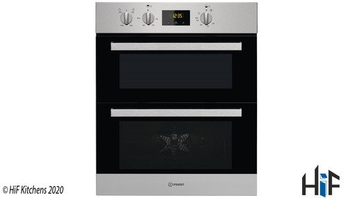 View Indesit Aria IDU 6340 IX Double Oven offered by HiF Kitchens