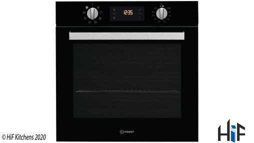 View Indesit Aria IFW 6340 BL UK Single Oven offered by HiF Kitchens