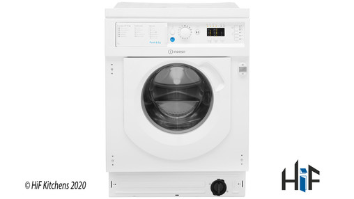 View Indesit Ecotime BI WMIL 71452 UK Integrated Washing Machine offered by HiF Kitchens