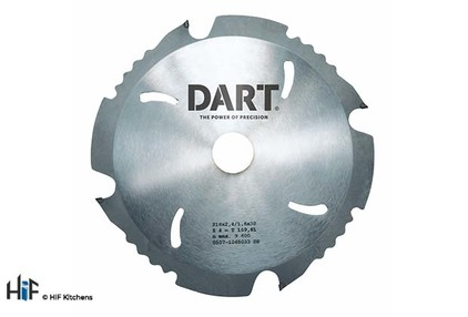 View DART PCD Fibre Cement Saw Blade 160Dmm x 20B x 4Z offered by HiF Kitchens