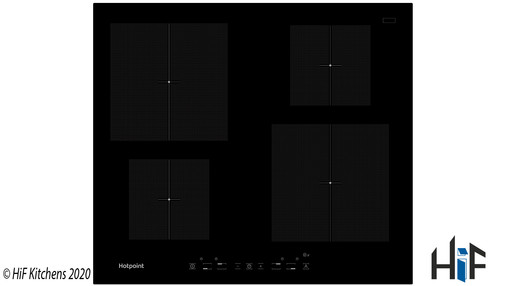 Hotpoint CIA640C 60cm Induction Hob Image