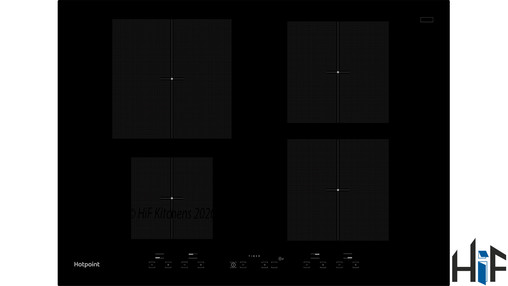 Hotpoint CID740B 70cm Induction Hob Image