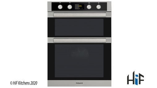 Hotpoint DKD5841JCIX Multifunction Built-in Double Oven Image