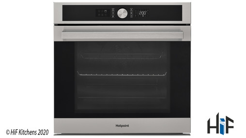 View Hotpoint Class 5 SI5 851 C IX Electric Single Built-In Oven offered by HiF Kitchens