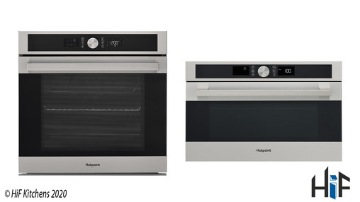 View Hotpoint Class 5 SI5851CIX + MD554IXH Combo Deal offered by HiF Kitchens