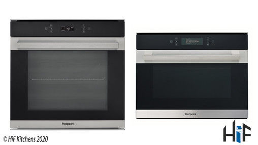 View Hotpoint Class 7 SI7891SPIX + MP776IXH Combo Deal offered by HiF Kitchens