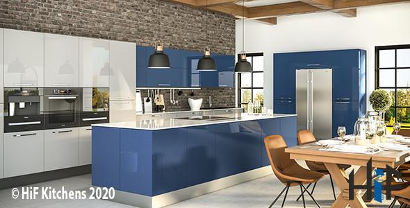 Zurfiz Ultragloss Baltic Blue Image