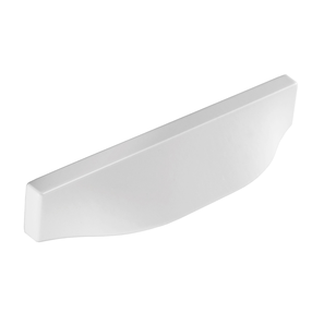 H1138.64.MW Kitchen Cup Handle 94mm Wide White  Image