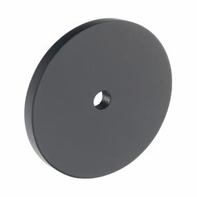 B383.40.MB Kitchen Circular Backplate Matt Black  Image