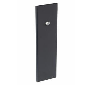 View B384.130.MB Kitchen Offset Rectangular Backplate Matt Black  offered by HiF Kitchens
