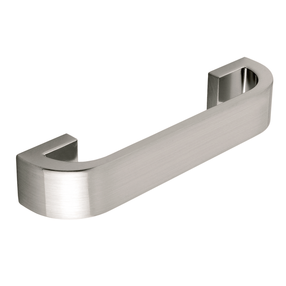 H299.224.SS D Handle Die-Cast Stainless Steel Effect Image