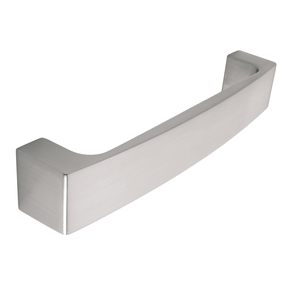 H596.160.SS Kitchen D Handle Stainless Steel Effect Image