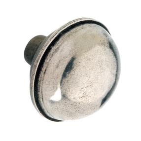 K489.47.PE Kitchen Knob 47mm Solid Pewter Image
