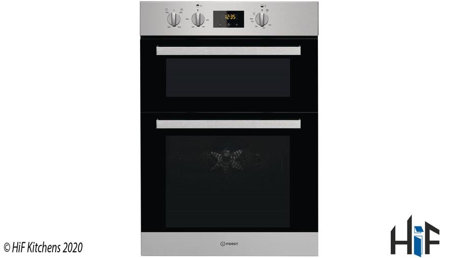 Indesit Aria IDD6340IXUK Double Oven Image 1