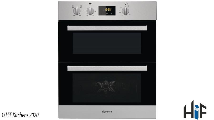 Indesit Aria IDU6340IXUK Double Oven Image 1