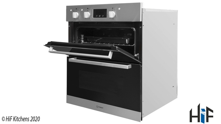Indesit Aria IDU6340IXUK Double Oven Image 4