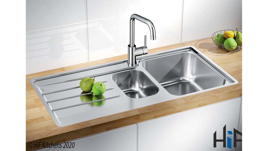 Blanco Herald Chrome Kitchen Tap 454797 Image 3