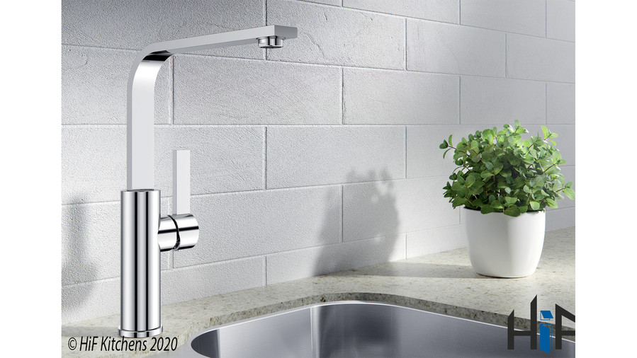 452536 Blanco Sole Chrome Kitchen Tap BM1320CH Image 2