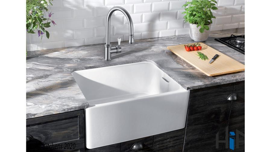 Blanco Vicus Single Lever Chrome Kitchen Tap 524287 Image 5