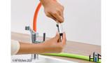 Blanco Viu-S Chrome Kitchen Tap 524813 Image 9 Thumbnail