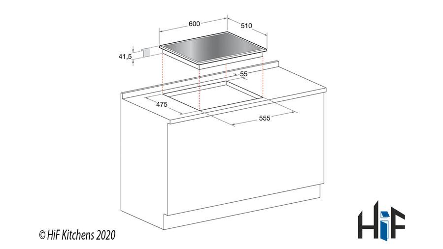 Hotpoint FTGHG641DHBK 60cm Gas On Glass Hob Image 8
