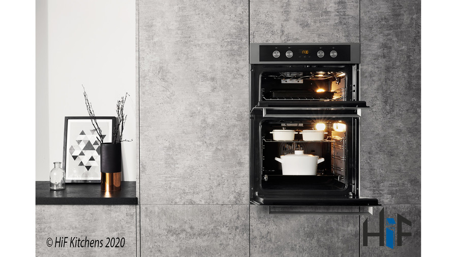 Hotpoint DKD5841JCIX Multifunction Built-in Double Oven Image 5