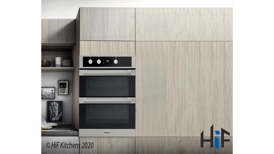 Hotpoint DKU5541JCIX  Built Under Double Oven Image 2