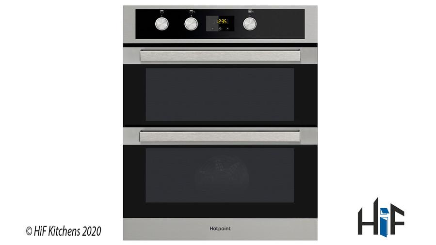 Hotpoint DKU5541JCIX  Built Under Double Oven Image 1