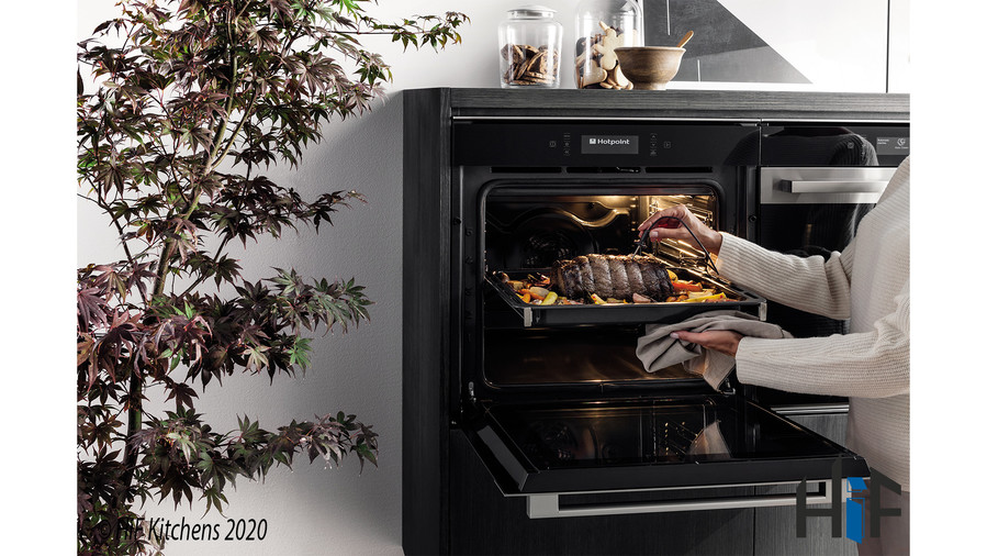 Hotpoint SI9891SPIX Multi Function Single Oven Image 4